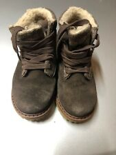 Cherokee Boys Toddler Brown Lace Up Boot Shoes  Size 10 Shoes