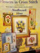 Flowers In Cross Stitch Booklet-Mary Hickmott For Zweigart #108