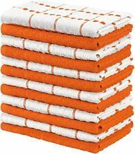 """12 Pack Kitchen Towel Dish Cloth Super Absorbent Tea Towels 15x25"""" Utopia Towels"""