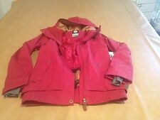 NWT Roxy Red Women Juno Heavy Jacket  Dry Flight Technology 10K 3M Thinsulate L