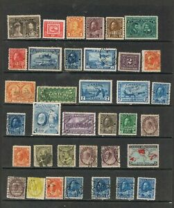 CANADA - Lot of old stamps
