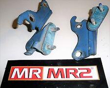 Toyota MR2 MK2 SW20 Blue 8J2 Engine Lid Cover Hinges - Mr MR2 Used Parts