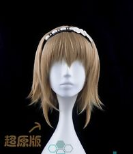 Anime Tokyo Ghoul Fueguchi Hinami Wig Cosplay Costume Wigs Short Brown Hair