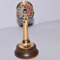 Brass Telegram Nautical Collectible Globe Table Desk Top Decor Replica Gift Item