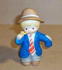 Enesco, Ceramic Boy Figurine. 1984