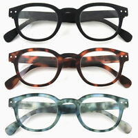 GAWK Round Soft-Touch READING GLASSES Black/Tortoiseshell/Blue 1.0+1.5+2+2.50+3