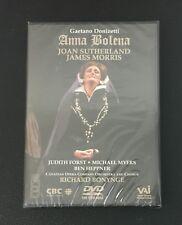 Donizetti Anna Bolena/Bonynge Sutherland Morris Canadian Opera Company DVD NEW