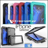 Etui Coque Housse étanche Waterproof Shockproof Case Cover iPhone Xs Max / XR