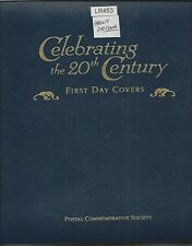Celebrating The 20th Century First Day Covers Over 145 FDC RET. $1,123+ (LR453)