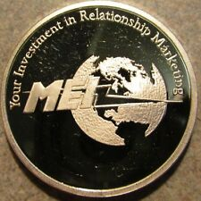 MEI Capital Partners Investments Los Angeles, CA 1 Troy Oz 999 Fine Silver Round