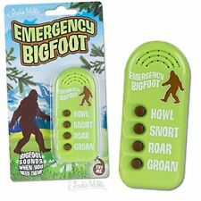 Archie McPhee Emergency Bigfoot Electronic Noisemaker,Multi-colored, One Size