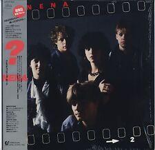 Nena - ? (Fragezeichen) JAPAN LP with OBI and LYRIC SHEET Promo Booklet, Shrink