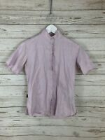 BARBOUR Shirt - UK10 - Short Sleeved - Great Condition - Women's