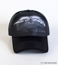 The Mountain Save The Whales Adult Graphic Foam Trucker Hat, Black, Adjustable
