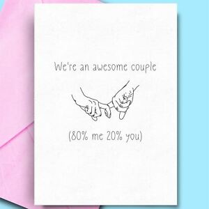 Birthday Greeting Cards Cheeky Adult Humour Cards For Partner Fiance Hubby