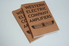 Western Electric Company Amplifiers Book Magazine for Speaker Sound System