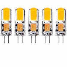 Luxrite G4 LED Bulb 12V AC/DC 20W Halogen T3 Equivalent 200lm 4100K 5-Pack