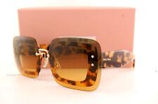 Brand New Miu Miu Sunglasses MU 02R 02RS 7S00A3 Havana/Brown Women