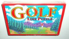 New Sealed Binary Arts Golf Course Cart Path Line Puzzle 1994 Ages 8 And Up