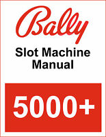 Bally 5000+ Operator Instructions Manual PDF