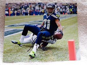 Seattle Seahawks Golden Tate Signed 8x10  Photo Auto