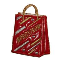 ID 8493 Bubble Shopping Bag Patch Tote Purse Fashion Embroidered IronOn Applique