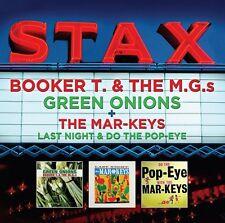 STAX - BOOKER T & THE MG`S - GREEN ONIONS + THE MAR-KEYS - LAST NIGHT (NEW 2CD)