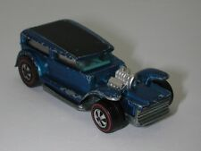 Redline Hotwheels Blue 1970 The Demon White Interior oc11981