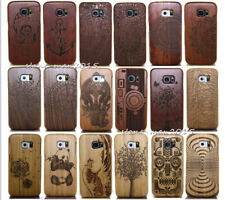 Original Wood Bamboo Hard Case Back Cover for Samsung Galaxy Note 5 S9/S8 Plus