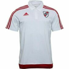 Adidas CARP River Plate Polo Shirt (White) - Large Mens BNWT