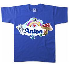 Kinder T-Shirt - Anton - Niedliches Motiv Mädchenname Schmetterling Name Kids