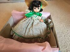 """MADAME ALEXANDER NEW COLLECTOR DOLL 8"""" MINT CONDITON  WITH BOX SCARLETT 626 CERT"""
