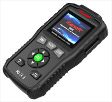 i820 iCarsoft OBD II universal Pro Diagnostic Code Scanner Print capable Black