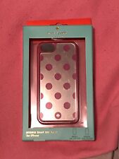Kate Spade Fuschia Polka Dot iPhone 5/5S Case