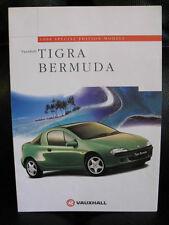 OPEL Tigra Bermudas Special Edition 1998 Folleto de vista previa de mercado del Reino Unido
