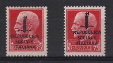 Francobolli della Repubblica Sociale Italiana (RSI) e Luogotenenza