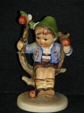 "Goebel Hummel 142 3/0 ""Herbst, Junge im Baum"", apple tree boy"