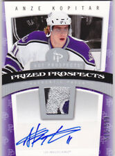 06-07 Hot Prospects Anze Kopitar /599 Auto Patch Rookie 4 Color 5 Break 2006