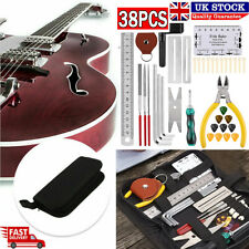 More details for 38pcs guitar care cleaning repair tool kit luthier setup maintenance tools kits