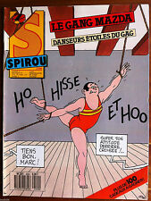 c)SPIROU n°2590; Le gang mazda, danseurs étoiles du gag