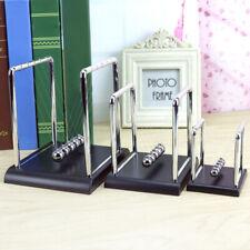 Classic Newtons Cradle Kinetic Balls School Educational Prop Toy Desk Decor New