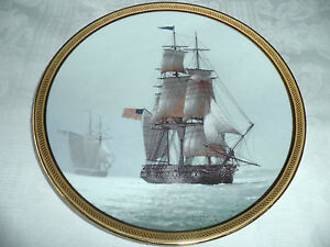 THE GREAT SHIPS of  GOLDEN AGE of SAIL PLATE - 'CONSTITUTION'  1986 LTD 1ST Ed