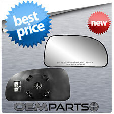 HEATED PASSENGER'S SIDE MIRROR REPLACEMENT GLASS W BACKING MOUNT CHEVY ISUZU GM