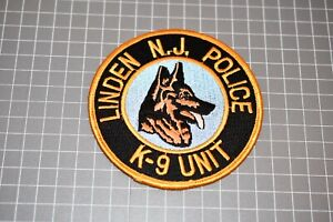 Linden New Jersey Police K-9 Patch (S03-1)