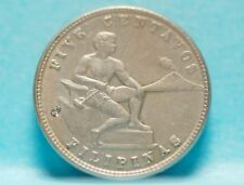 Philippines, 1930-M 5 Centavos, Extremely Fine, small dig, No Reserve      18xgm
