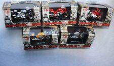 Ducati 5 Stück Motorrad Modell  1:32 New Ray Sport 750 SS Hailwood 900 Superbike