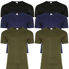 Mens Twin Pack Short Sleeve Thermal Top TShirt Baselayer Designer Underwear Vest