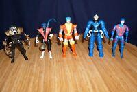 MARVEL TOY BIZ X-MEN APOCALYPSE WOLVERINE NIGHTCRAWLER COLOSSUS ARCHANGEL FIGURE
