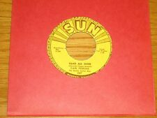 "ROCKABILLY 45 RPM - CARL PERKINS - SUN 287 - ""GLAD ALL OVER / LEND ME YOUR COMB"""