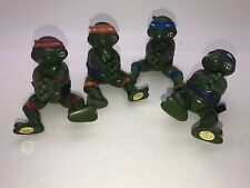 FULL SET VINTAGE TEENAGE MUTANT NINJA TURTLES TMNT FIGURES MADE IN KOREA